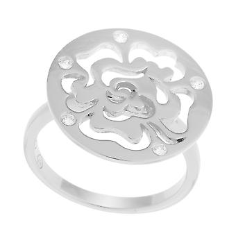 Orphelia Silver 925 Ring Flower Circle ZR-7079