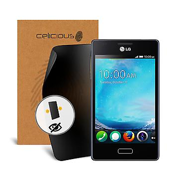 Celicious Privacy 2-Way Visual Black Out Screen Protector for LG Fireweb