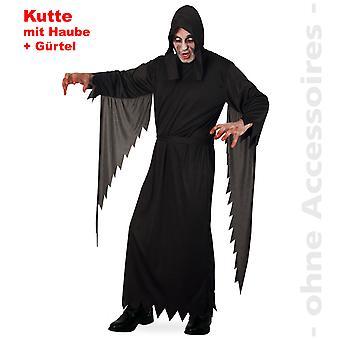 Grim reaper costume of Mr death Halloween costume horror mens robe