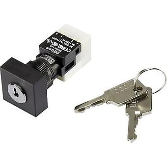 DECA ADA16K6-AA0-CH Key switch 250 V AC 5 A 1 x On/Off/On 2 x 90 ° IP65 1 pc(s)
