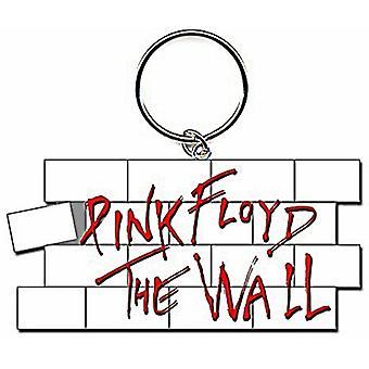 Floyd rosado la pared en forma de llavero de Metal
