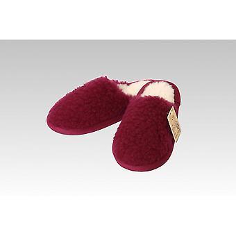 Slipper wool bordeaux 36/37