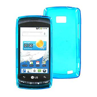 OEM Verizon LG Ally VS740 Snap sul caso (blu) (confezione Bulk)