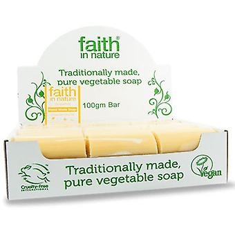 Faith in Nature, Grapefruit Soap unwrapped, 18 box