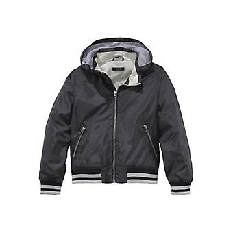 H.I.S of water-repellent young bomber jacket black