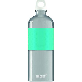 Sigg CYD Whyte Touch Bottle with Integrated Grip High - Quality Aluminum
