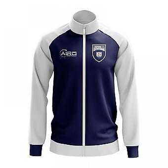Anguilla conceito futebol Track Jacket (azul)