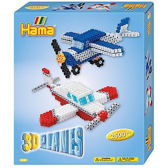 Hama Strijkkralen 3D Vliegtuigen 2500 Stuks