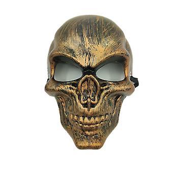 Schedel Purge masker maskerade partij partij halloween-goud