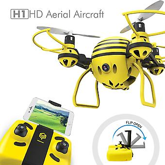 HASAKEE H1 FPV RC Drone with HD Live Video Wifi Camera and Headless Mode 2.4GHz 6-Axis Gyro Quadcopter with Altitude Hold and One-Button Take off