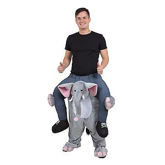 Elefante traje de espalda alcancía