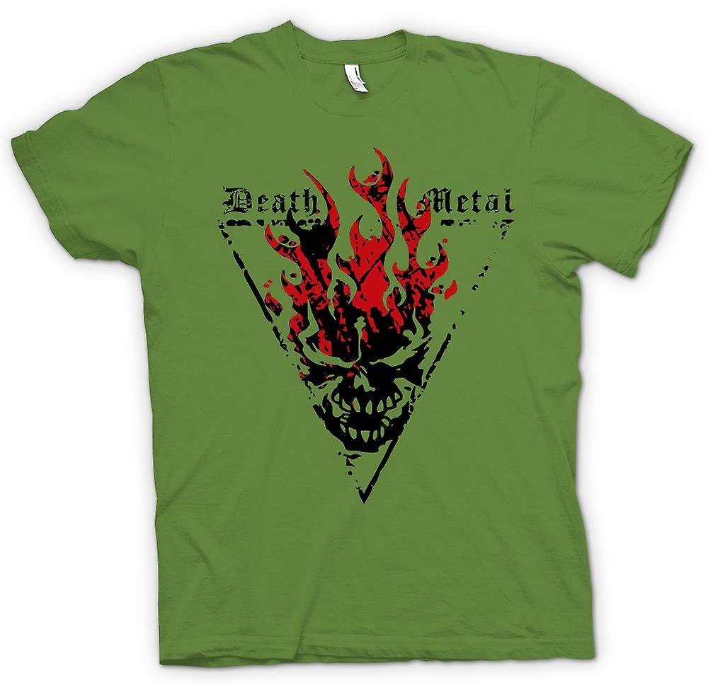 Mens T-shirt - Death Metal - Thrash Devil Gothic