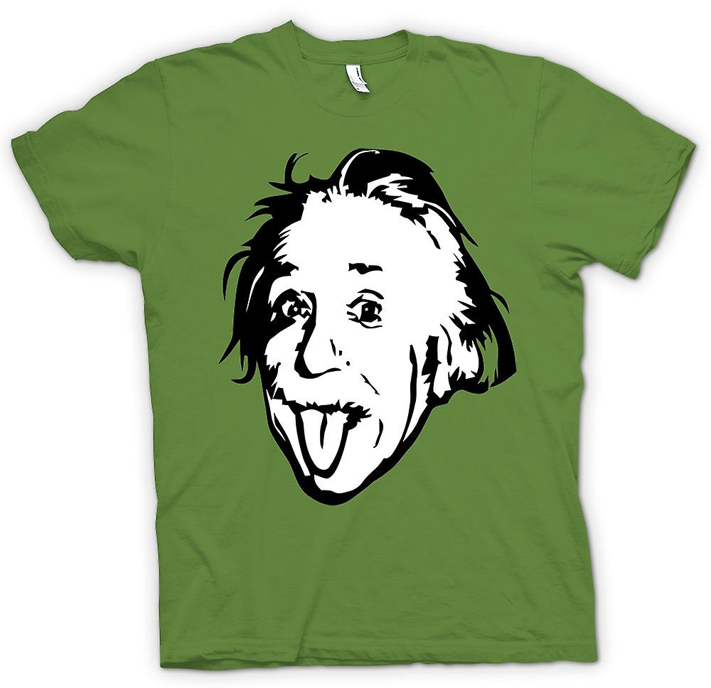 Mens T-shirt - Albert Einstein Tongue Out - Funny