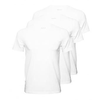 Boss 3-Pack Regular-Fit Crew-Neck T-Shirts, White