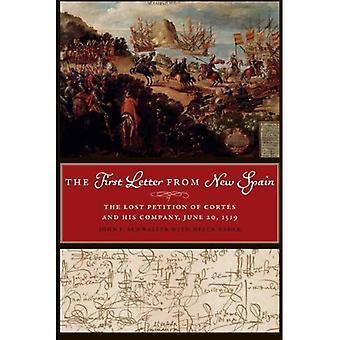 Erster Buchstabe von Neu-Spanien: die verlorene Petition der Cortes und seine Firma, 20 Juni 1519 (Joe R. & Teresa Lozano...