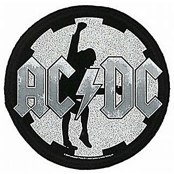 AC/DC Angus Cog large round sew-on back patch  (mm)