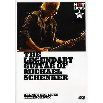 Legendary Guitar of Michael Schenker [DVD] USA import