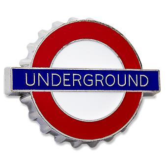London Underground Sign, Underground, Bottle Opener/Fridge Magnet (GWC)