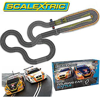 SCALEXTRIC Bundle SL82 BTCC Touring Car Set + Extra Track Kit Extension