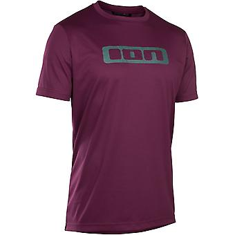 Ion Pink Isover 2019 Scrub Short Sleeved MTB Jersey