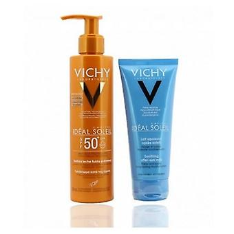 Vichy Ideal Soleil Leche Fluida Antiarena spf 50 de 200ml