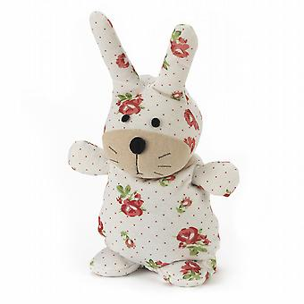 Warmies Socky Doll Fully Microwavable Toy: Flora Bunny