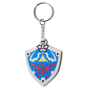 Die Legende von Zelda Hyrulian Crest Rubber Keyring