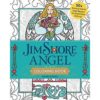 Jim Shore's Angel Coloring Book - 55+ Glorious Folk Art Angel Designs
