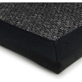 Rugs -Super Jute - Black
