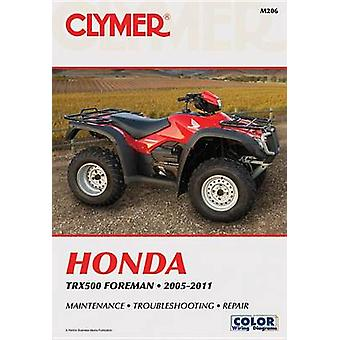 Clymer Honda TRX500 Foreman 05-11 by Mike Morlan - 9781599694108 Book