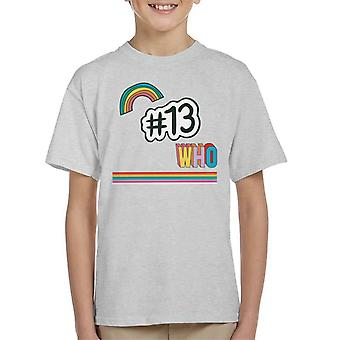 Doctor Who Hashtag 13 Kid's T-Shirt