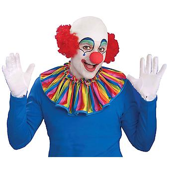 Clown Baldy Head Top Circus Birthday Men Costume Wig