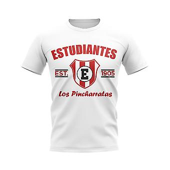 Estudiantes de la Plata Established Football T-Shirt (White)