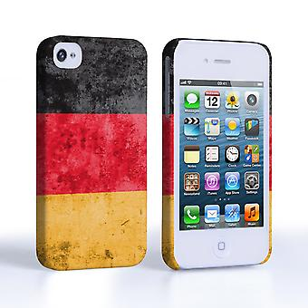 Caseflex iPhone 4 and 4S Retro Germany Flag Case
