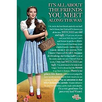 Poster - Studio B - Wizard of Oz - It's All About Wall Art P0099