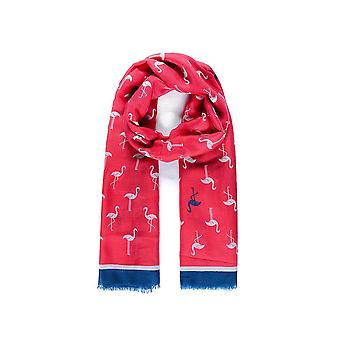 Intrigue Womens/Ladies Flamingo Print Scarf