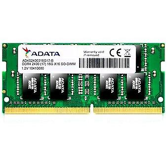 Adata ad4s240038g17-s ram 8gb 2400 mhz type so-dimm technology ddr4