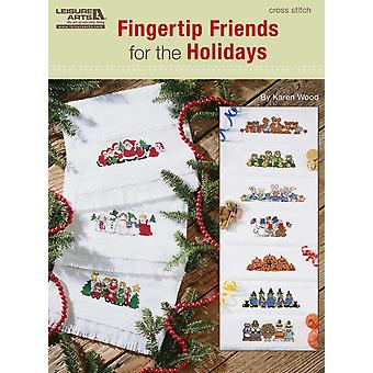 Leisure Arts Fingertip Friends For The Holidays La 5521