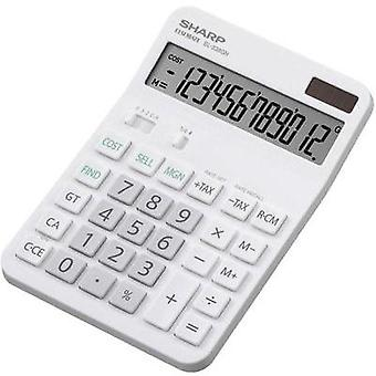 Sharp calculadora de sobremesa EL-338 GGY 12 digitos EL338GN