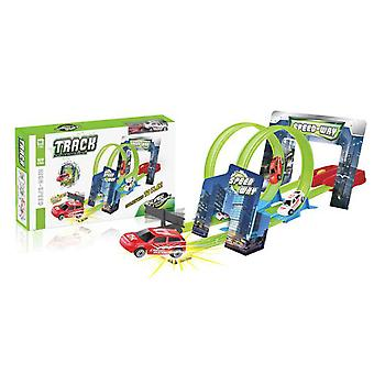 Import Pista Doble Looping Con 2 Coches