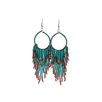 Long boho chic statement earrings (multiple colors)