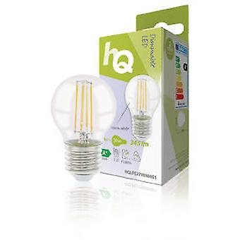 Hq Led Filament Bulb Retro E27 4 Watt 2700K 345 Lm Y