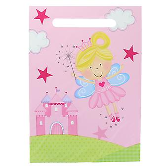Childrens Birthday Party Pack of 10 Pink Fairy Party Treat Bags