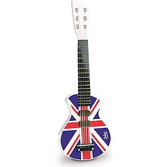 Vilac Union Jack Rock ' n ' roll chitarra