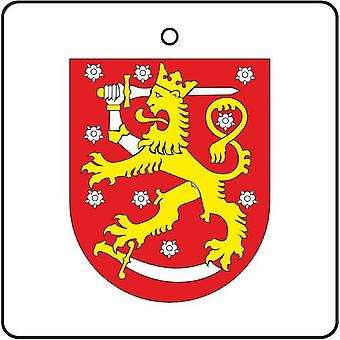 Finland Coat Of Arms Car Air Freshener