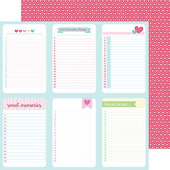 Crème & suiker ' Double-Sided Cardstock 12
