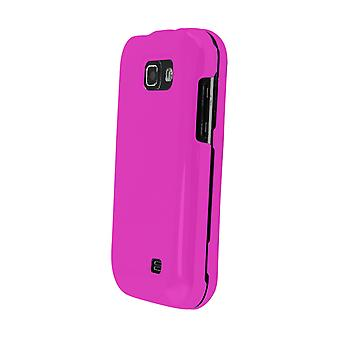 Technocel Soft Touch Shield Case Cover for Samsung M920 Transform (Pink) - SAM92