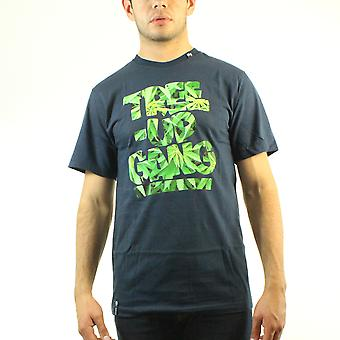 Lifted Research Group Tree Up Gang Herb Pattern Men's Black T-shirt