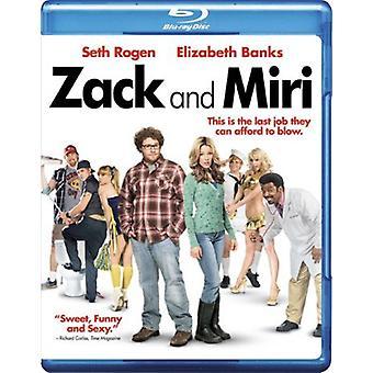 Zack & Miri [BLU-RAY] USA importerer