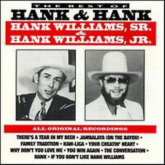Williams Jr./Williams Sr. - Best of Hank & Hank [CD] USA import